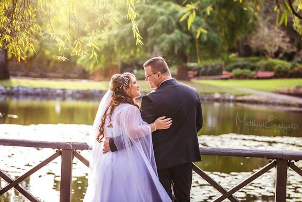 Wedding parks and gardens in Brisbane