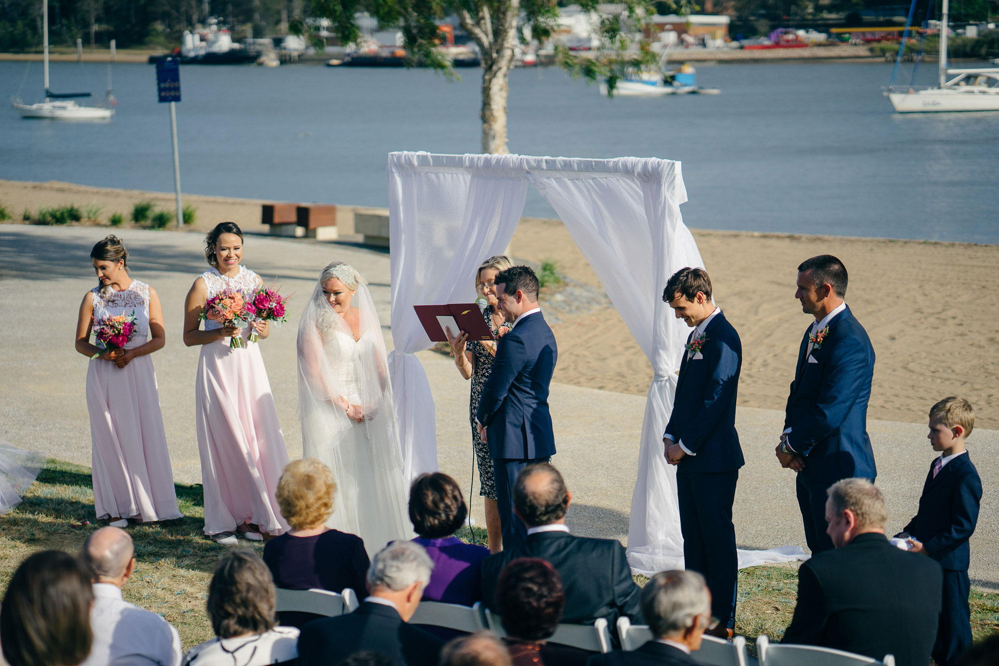 Brisbane Wedding Celebrant Bronwyn Saleh Marriage Celebrant