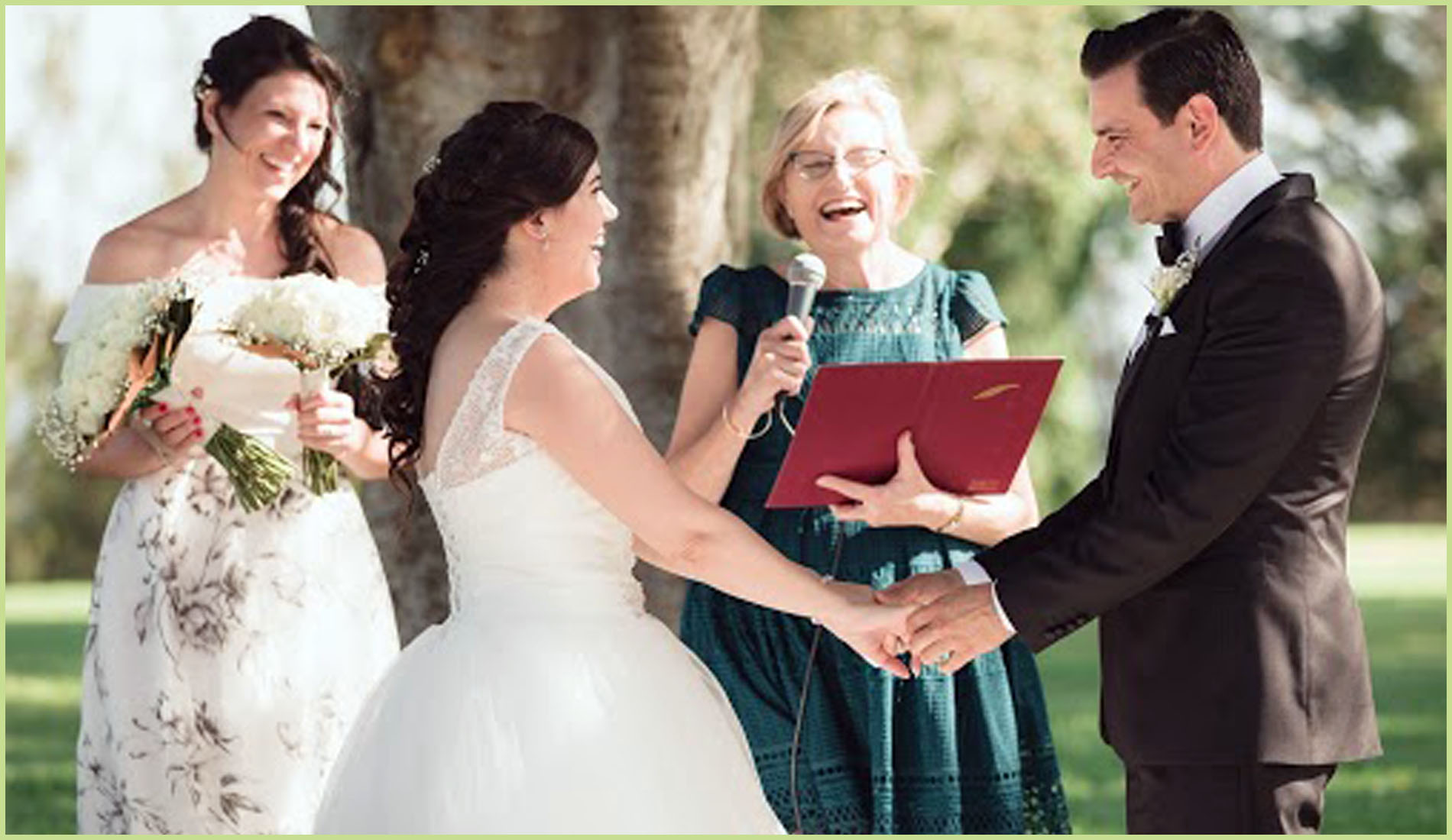 Contact Brisbane Wedding Celebrant Bronwyn Saleh