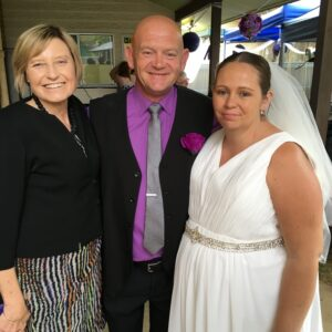 Jacinta and Jeff Married by Brisbane Wedding Celebrant