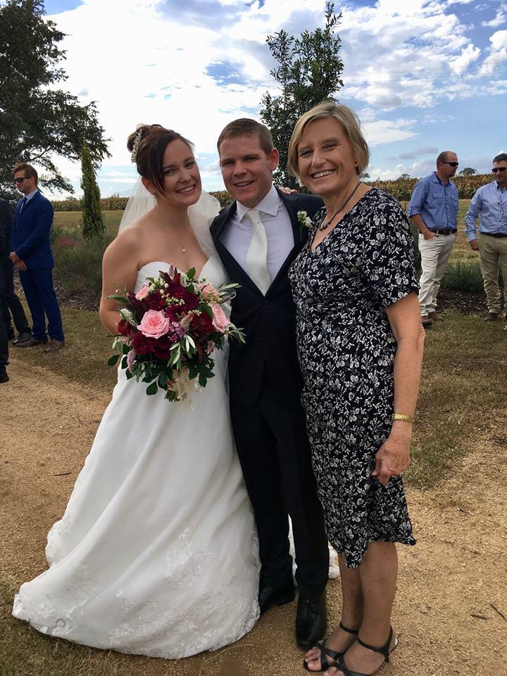 Ashley and Aaron married by Brisbane Wedding Celebrant