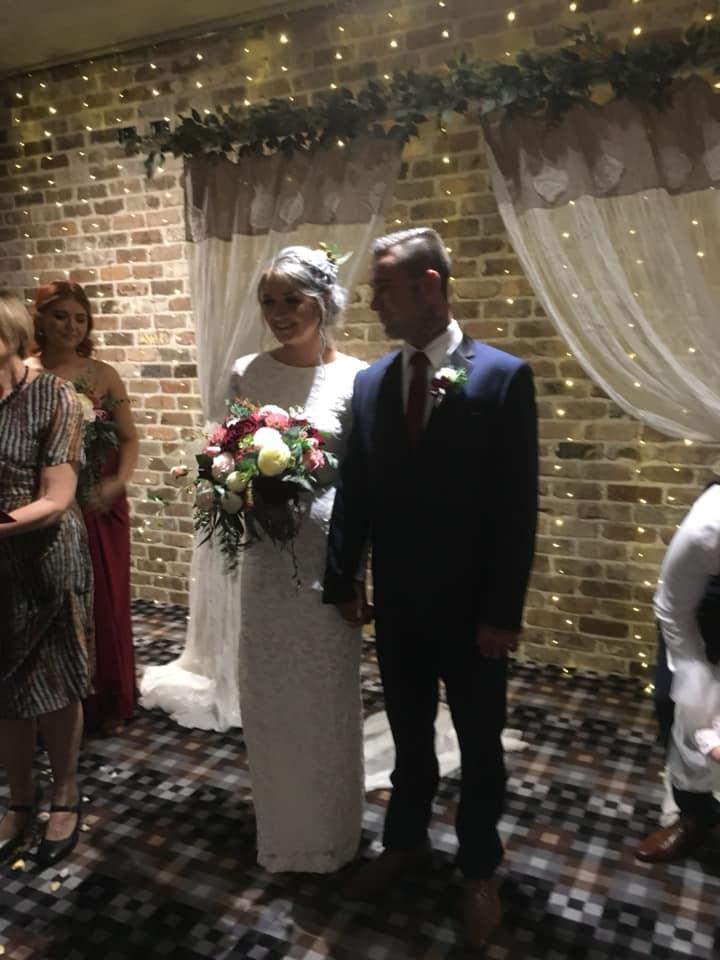 Cian and Luke Married by Brisbane Wedding Celebrant