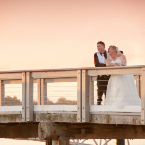 Wedding at Bribie Island