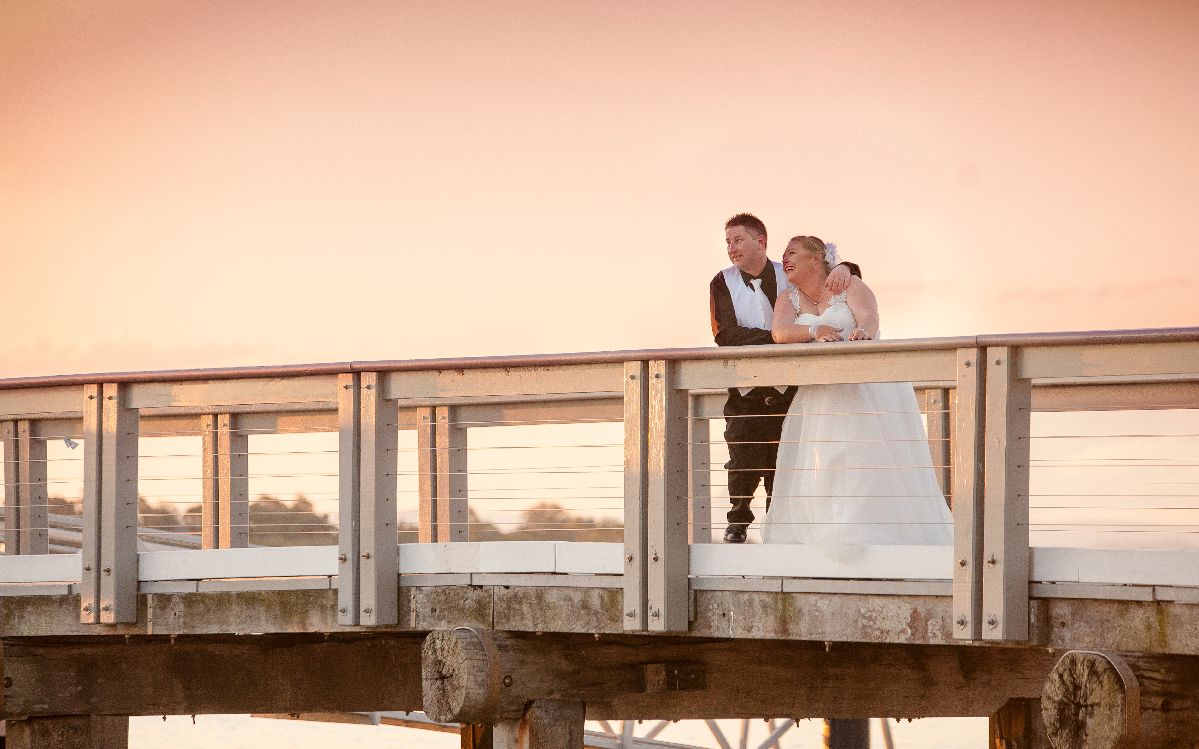 Wedding at Bribie Island