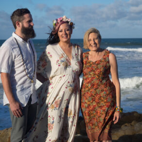 Wedding at Coolum Beach