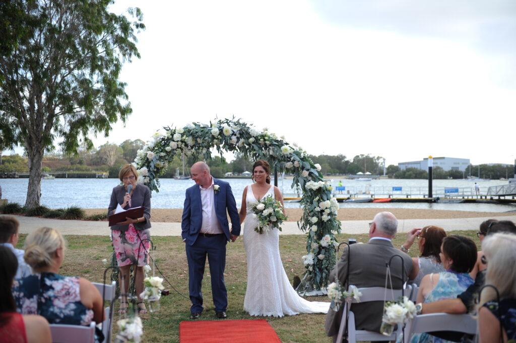 Wedding at Hamilton