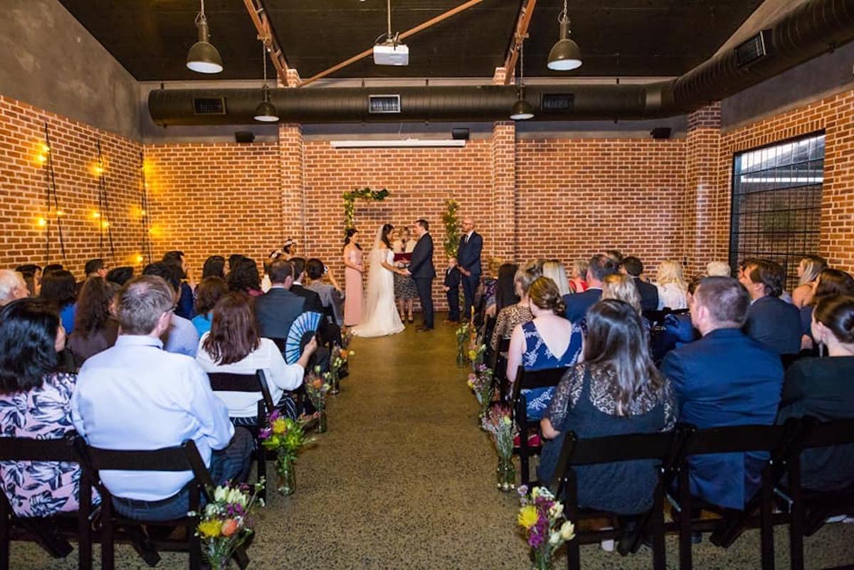 Wedding at Factory 51