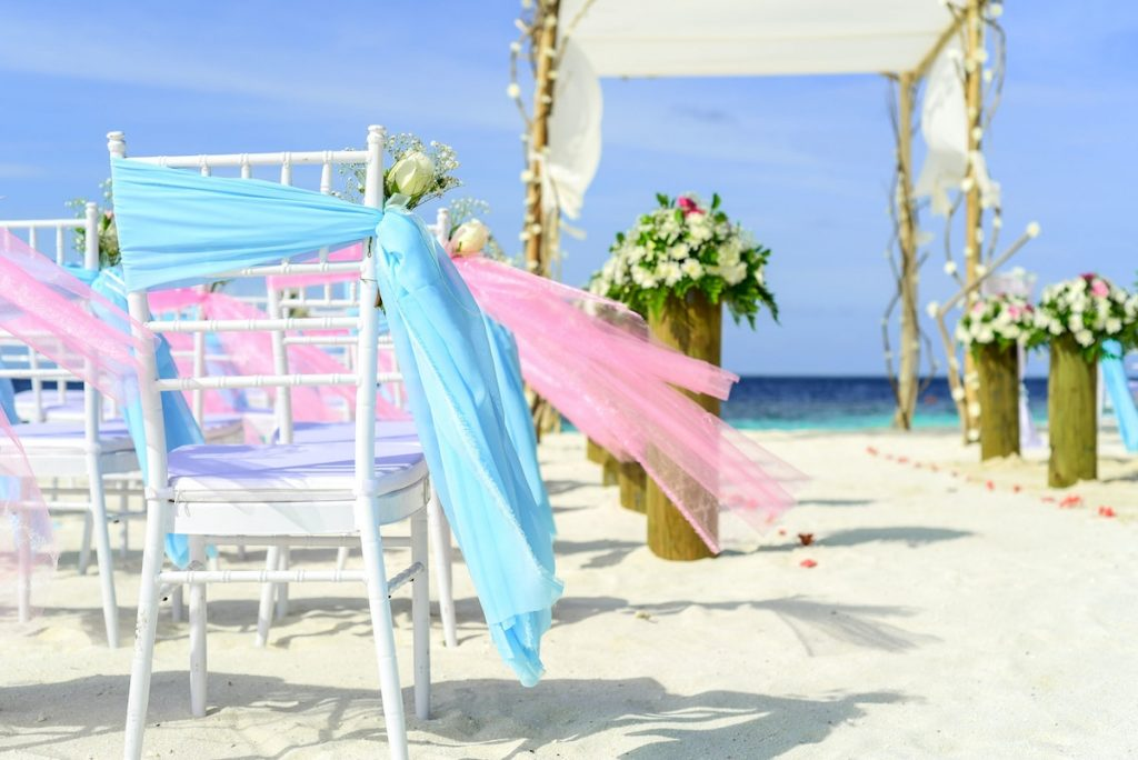 Gold Coast surf club wedding