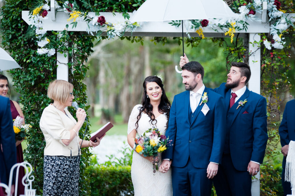 Rain on your wedding day in the Redlands
