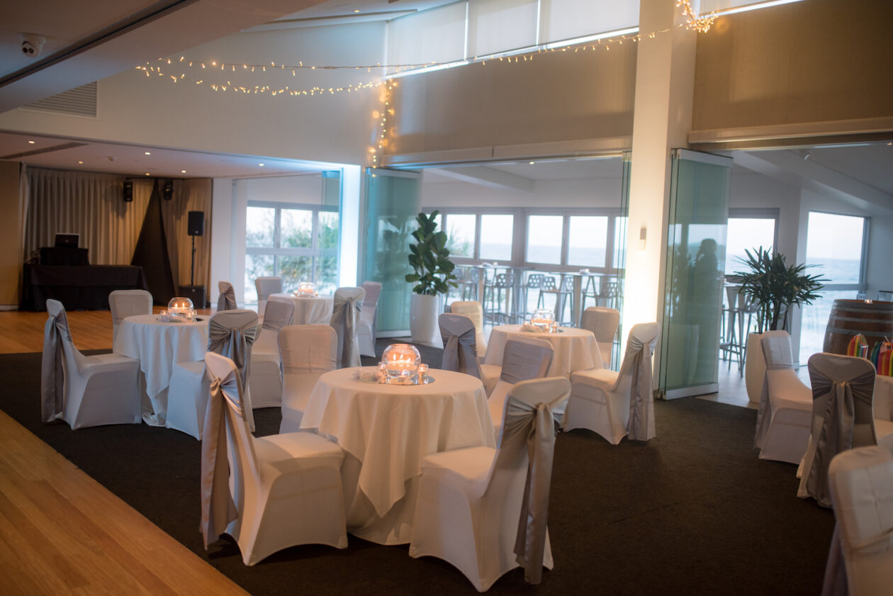Sunshine Coast Surf Club Wedding