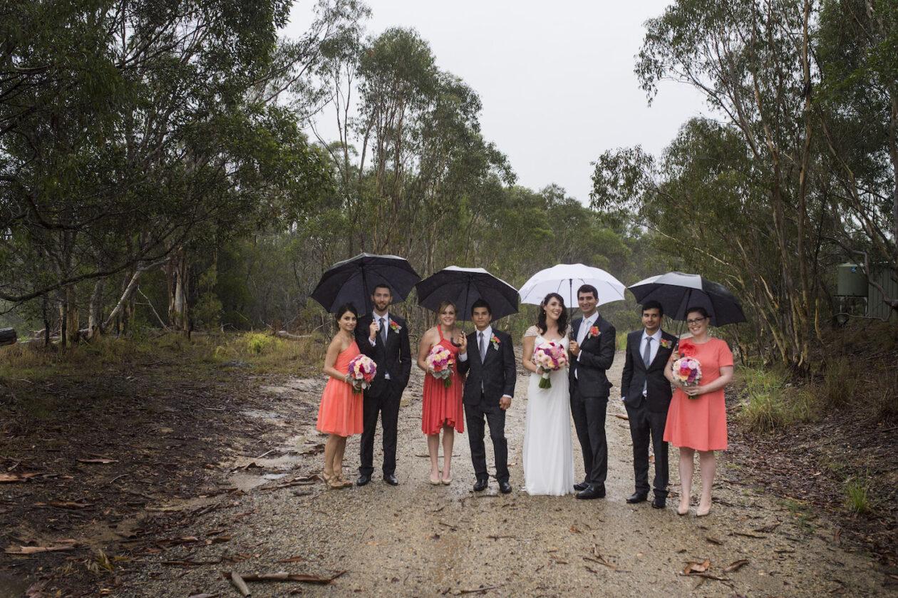 Rain on your wedding day on the Gold Coast