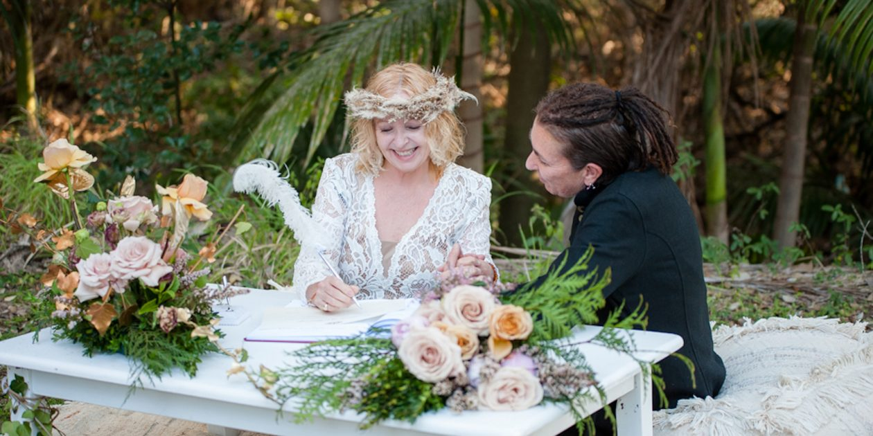 Same sex marriage celebrant Brisbane