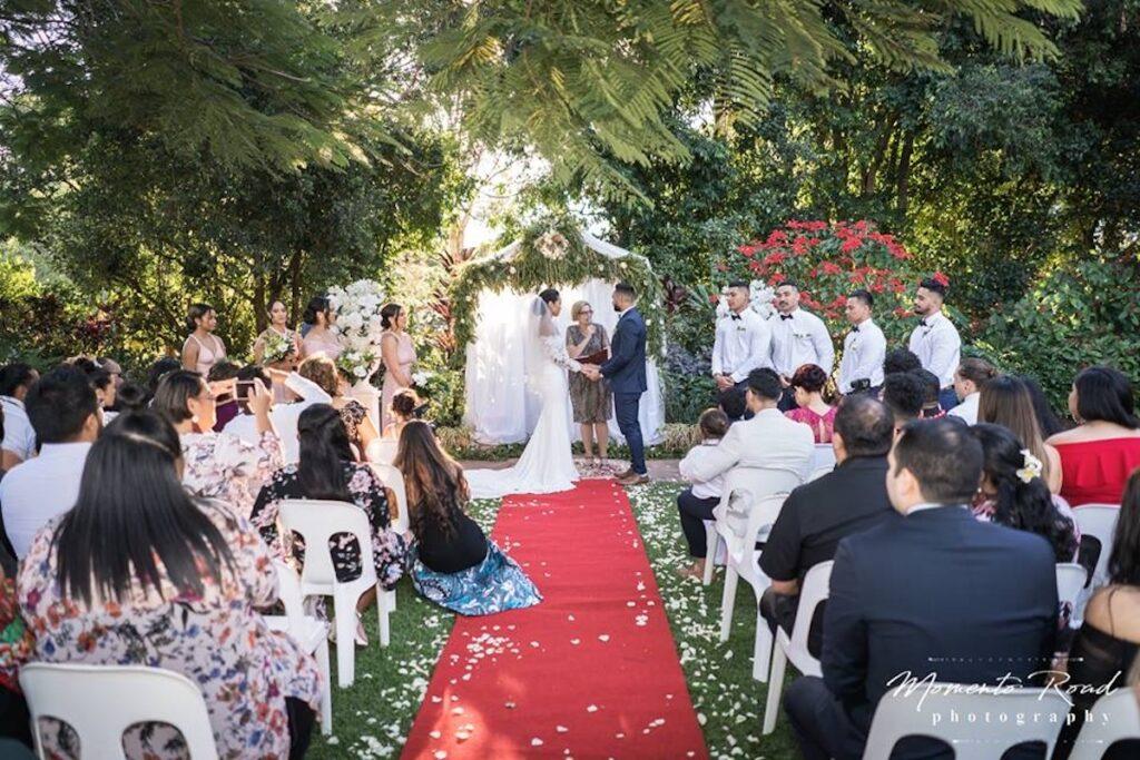 Joncia Gardens Wedding