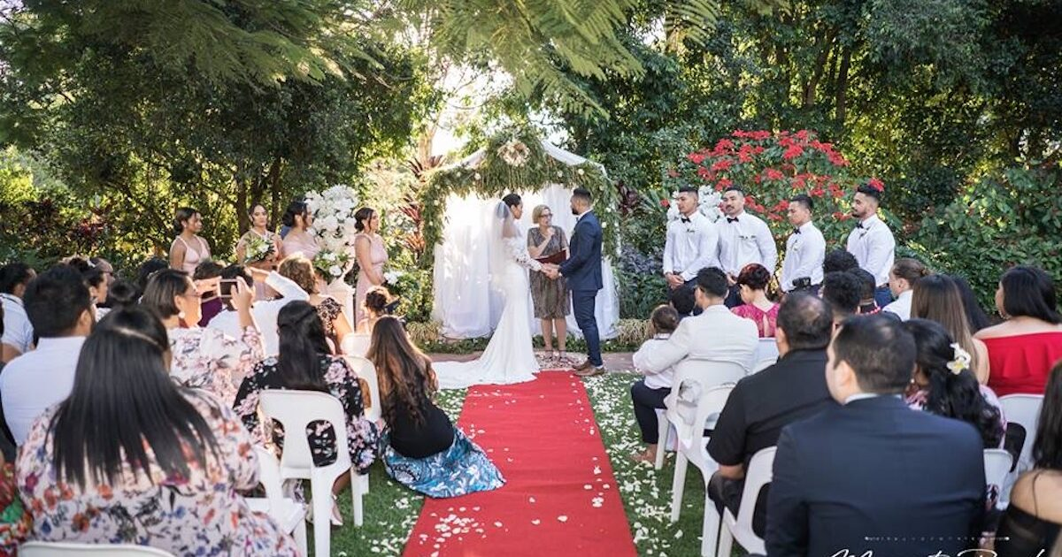 Joncia Gardens Wedding